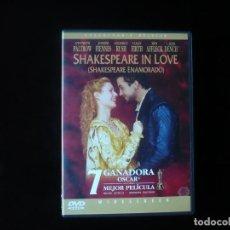 Cine: SHAKESPEARE IN LOVE - DVD CASI COMO NUEVO. Lote 207333410