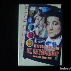Cine: EL ESTAFADOR - VITTORIO GASSMAN - DVD CASI COMO NUEVO. Lote 207333683