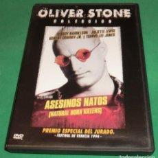 Cine: DVD ASESINOS NATOS / WODDY HARRELSON / JULIETTE LEWIS (DE COLECCIONISTA) PERFECTO ESTADO!. Lote 207335772