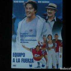 Cine: EQUIPO A LA FUERZA - KEANU REEVES Y GENE HACKMAN - DVD CASI COMO NUEVO. Lote 207341086