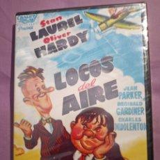 Cine: DVD. LOCOS DEL AIRE. LAUREN Y HARDY. EL GORDO Y EL FLACO. PRECINTADO.. Lote 207341200