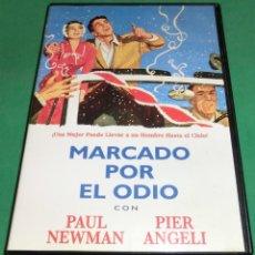 Cine: DVD MARCADO POR EL ODIO / PAUL NEWMAN / PIER ANGELI (DE COLECCIONISTA) PERFECTO ESTADO!. Lote 207430443