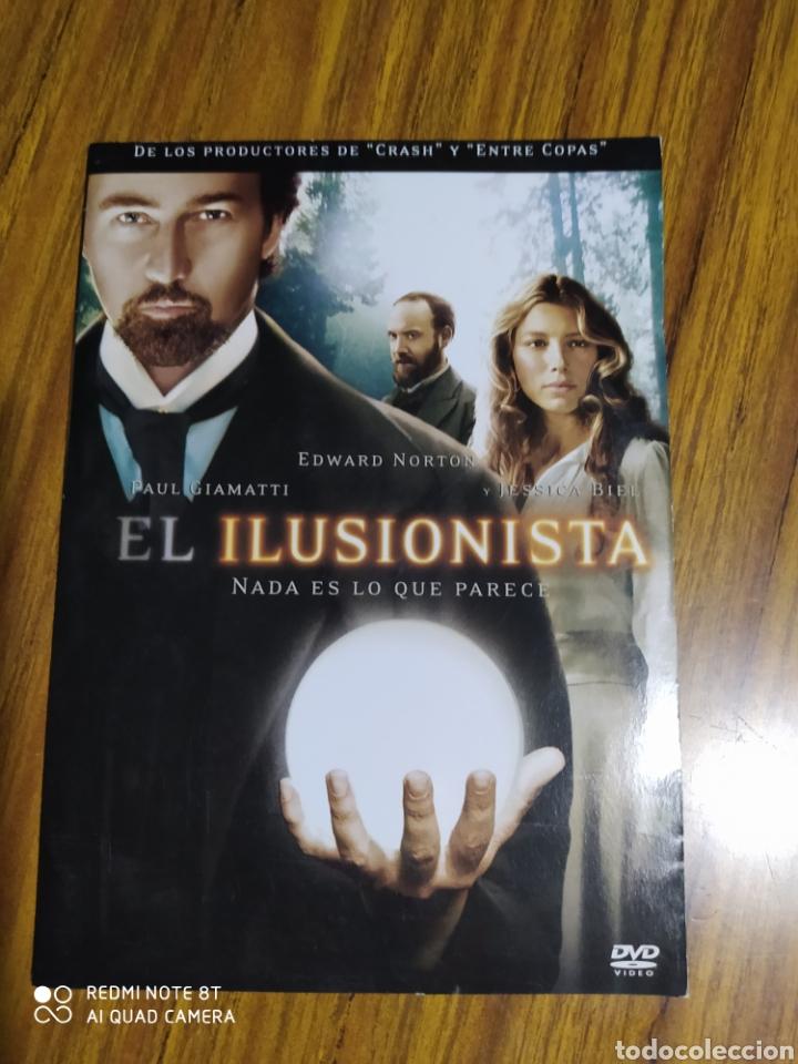 EL ILUSIONISTA, CON EDWARD NORTON, JESSICA BIEL, PAUL GIAMATTI. (Cine - Películas - DVD)