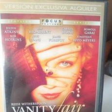 Cine: DVD - VANITY FAIR - REESE WHITERSPOON. Lote 207451998