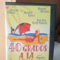 Cine: DVD- 40 GRADOS A LA SOMBRA -ANTONIO OZORES - ALFREDO LANDA -GRACITA MORALES -JOSE LUIS LOPEZ VAZQUEZ. Lote 207452133