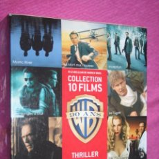 Cine: BOX *** COLECCIÓN WARNER BROS; PACK --) 10 PELÍCULAS DVD CINE THRILLER (EN FRANCÉS) ** PRECINTADO. Lote 207547566