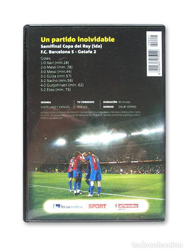 Cine: EL GOL DE MESSI - UN PARTIDO INOLVIDABLE ( FC BARCELONA 5 - GETAFE 2 ) - Foto 2 - 207731077