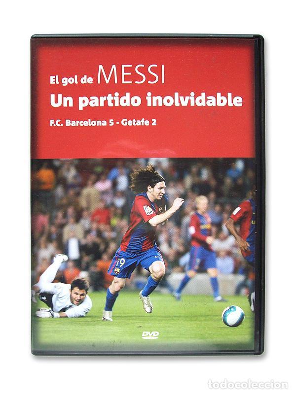 EL GOL DE MESSI - UN PARTIDO INOLVIDABLE ( FC BARCELONA 5 - GETAFE 2 ) (Cine - Películas - DVD)