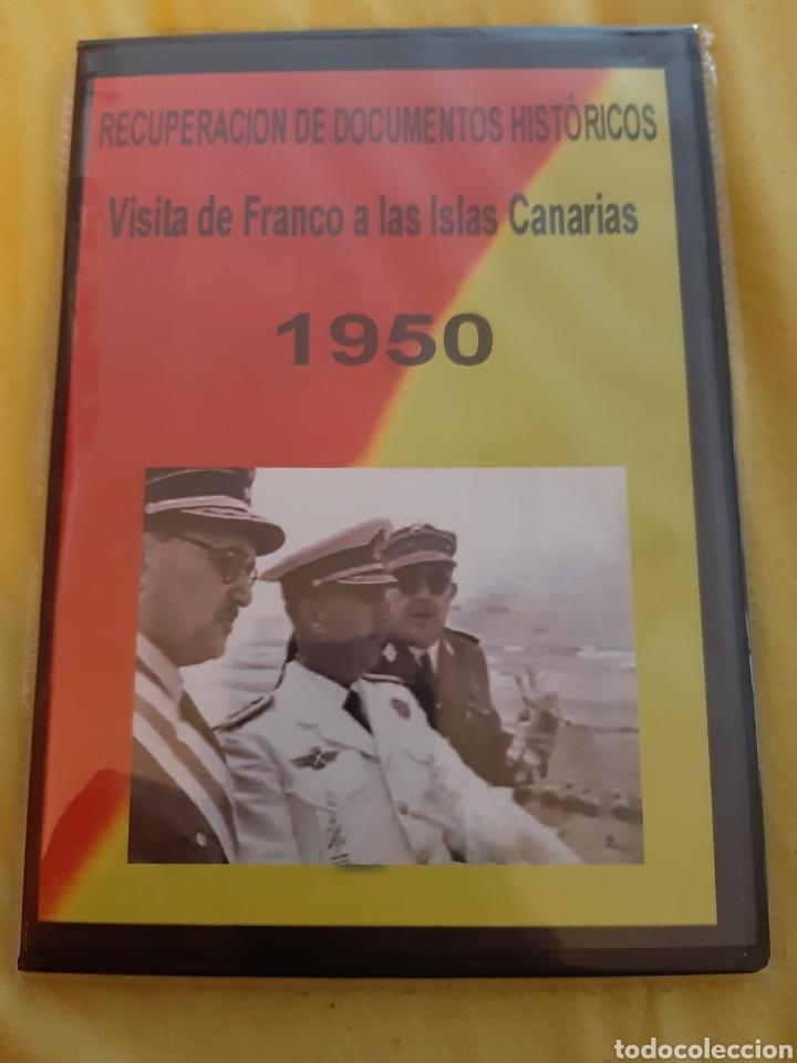 DVD VISITA DE FRANCO A LAS ISLAS CANARIAS 1.950 (ART. NUEVO) (Cine - Películas - DVD)