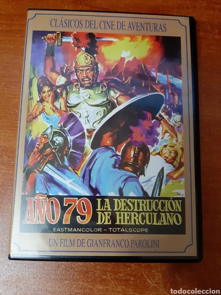 DVD AÑO 79, LA DESTRUCCIÓN DE HERCULANO (Cine - Películas - DVD)