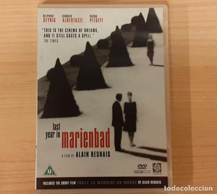 EL AÑO PASADO EN MARIENBAD / TODA LA MEMORIA DEL MUNDO ALAIN RESNAIS, DELPHINE SEYRIG ED. UK (Cine - Películas - DVD)