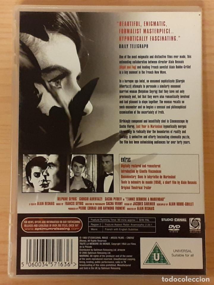 Cine: EL AÑO PASADO EN MARIENBAD / TODA LA MEMORIA DEL MUNDO ALAIN RESNAIS, DELPHINE SEYRIG ED. UK - Foto 2 - 207820602