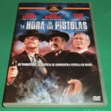 Cine: DVD LA HORA DE LAS PISTOLAS / JAMES GARNER / JASON ROBARDS (UN SOLO PASE) DE COLECCIONISTA.. Lote 208027820
