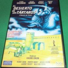 Cine: DVD EL DESIERTO DE LOS TARTAROS / VITTORIO GASSMAN [CARÁTULA ORIGINAL] (DE COLECCIONISTA)...UN PASE. Lote 208133953