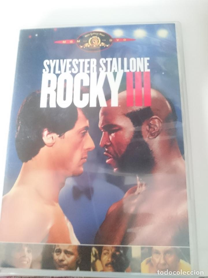 DVD - ROCKY III -SYLVESTER STALLONE - MISTER T (Cine - Películas - DVD)