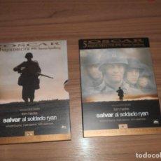 Cine: SALVAR AL SOLDADO RYAN EDICION ESPECIAL 2 DVD DE STEVEN SPIELBERG DISCOS COMO NUEVOS. Lote 269043668