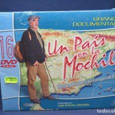 Cine: UN PAIS EN LA MOCHILA - DVD DOCUMENTAL. Lote 208278000