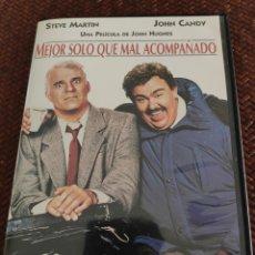 Cine: MEJOR SOLO QUE MAL ACOMPAÑADO DVD. Lote 208353451