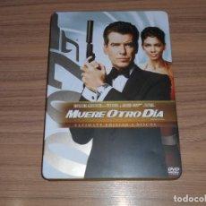 Cinema: JAMES BOND 007 MUERE OTRO DIA EDICION ESPECIAL CAJA METALICA 2 DVD PIERCE BROSNAN. Lote 208462775