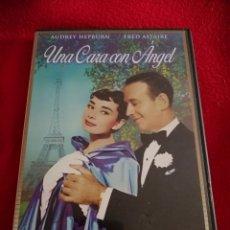 Cine: DVD UNA CARA CON ANGEL - STANLEY DONEN - FRED ASTAIRE - AUDREY HEPBURN. Lote 208570316