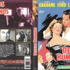 Cine: DESEOS HUMANOS - FRITZ LANG. Lote 208601243