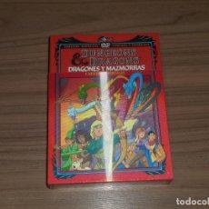 Cine: DRAGONES Y MAZMORRAS DUNGEONS & DRAGONS EDICION NUMERADA LIMITADA 4 DVD + POSTALES NUEVA PRECINTADA. Lote 222541805