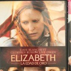 Cinema: ELIZABETH LA EDAD DE ORO. Lote 208855625