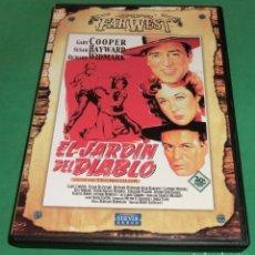 Cine: DVD EL JARDÍN DEL DIABLO / GARY COOPER (UN SÓLO PASE) DE COLECCIONISTA. Lote 209013555