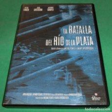 Cine: DVD LA BATALLA DEL RÍO DE LA PLATA (UN SÓLO PASE) DE COLECCIONISTA. Lote 209015985