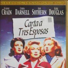 Cine: CARTA A TRES ESPOSAS (J. L. MANKIEWICKZ, 1949, J. CRAIN, L. DARNELL, A. SOTHERN) (FOTO ADICIONAL). Lote 209150480