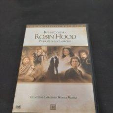 Cinéma: S 401 ROBIN HOOD PRÍNCIPE DE LADRONES -DVD SEGUNDA MANO. Lote 209410841