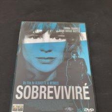 Cinéma: S 403 SOBREVIVIRÉ -DVD SEGUNDA MANO. Lote 209417092