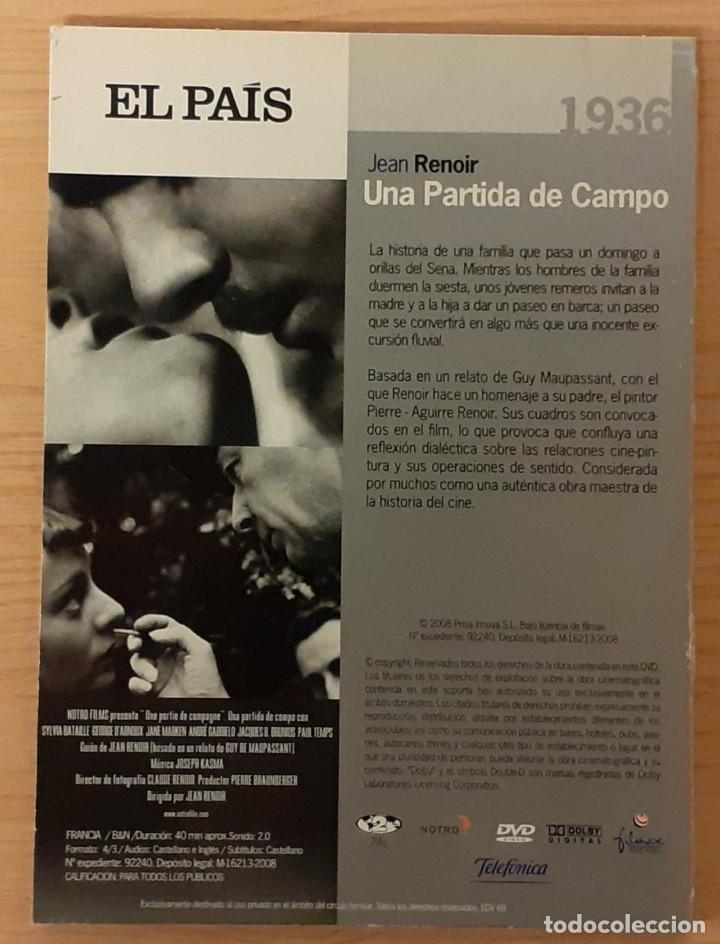 Cine: UNA PARTIDA DE CAMPO (UNE PARTIE DE CAMPAGNE) JEAN RENOIR (DESCATALOGADA) - Foto 2 - 209562085