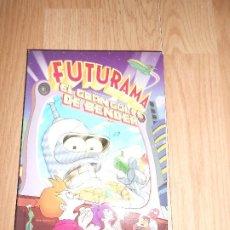Cine: FUTURAMA EL GRAN GOLPE DE BENDER - DVD. Lote 209598385