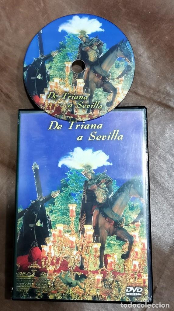 DVD SEMANA SANTA SEVILLA - DE TRIANA A SEVILLA PRODUCCIONES RVG (Cine - Películas - DVD)