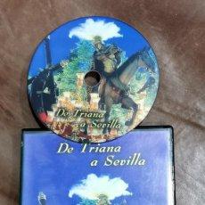 Cine: DVD SEMANA SANTA SEVILLA - DE TRIANA A SEVILLA PRODUCCIONES RVG. Lote 209605075