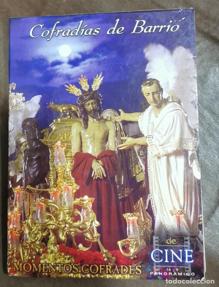 DVD SEMANA SANTA SEVILLA - COFRADIAS DE BARRIO , MOMENTO COFRADE CON LIBRETO (Cine - Películas - DVD)