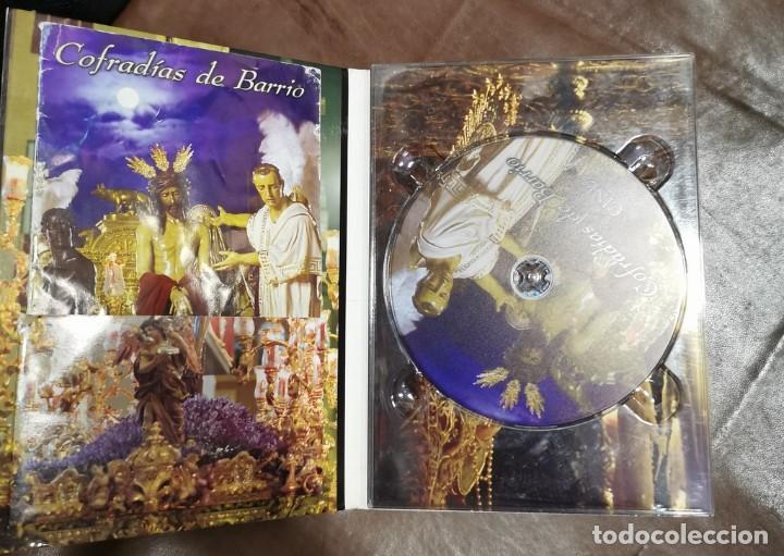 Cine: DVD SEMANA SANTA SEVILLA - COFRADIAS DE BARRIO , MOMENTO COFRADE CON LIBRETO - Foto 2 - 209605413