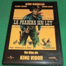 Cine: DVD LA PRADERA SIN LEY / KIRK DOUGLAS (UN SÓLO PASE) DE COLECCIONISTA. Lote 209635612