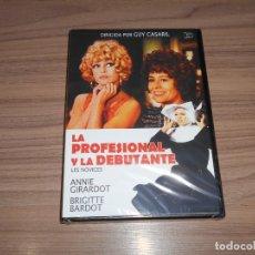 Cine: LA PROFESIONAL Y LA DEBUTANTE DVD BRIGITTE BARDOT NUEVA PRECINTADA. Lote 278682523