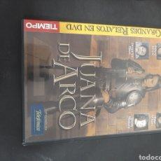 Cine: DVS 45 JUANA DE ARCO-DVD SEGUNDA MANO TAPA FINA. Lote 209764525