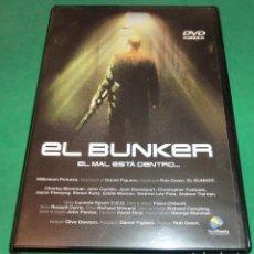 Cine: DVD EL BUNKER / EL MAL ESTÁ DENTRO... (UN SÓLO PASE) DE COLECCIONISTA. Lote 209794760