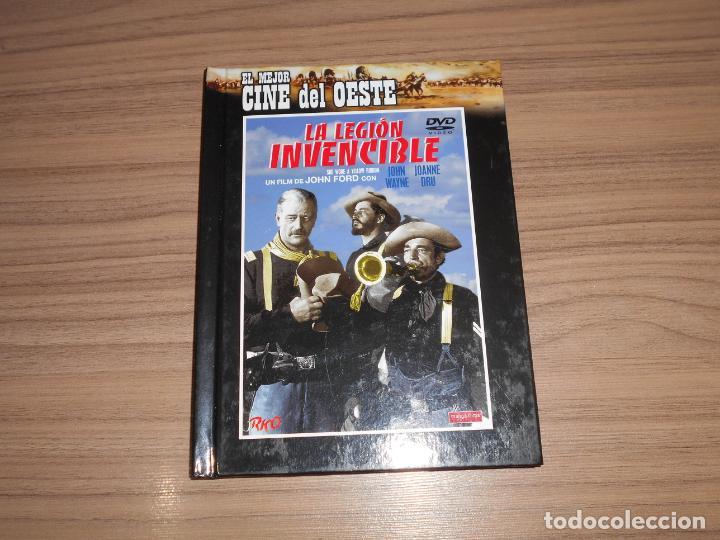 LA LEGION INVENCIBLE EDICION ESPECIAL + DVD + LIBRO JOHN FORD JOHN WAYNE COMO NUEVA (Cine - Películas - DVD)