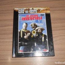 Cine: LA LEGION INVENCIBLE EDICION ESPECIAL + DVD + LIBRO JOHN FORD JOHN WAYNE COMO NUEVA. Lote 226686330