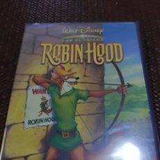 Cine: ROBIN HOOD DISNEY PLASTIFICADA. Lote 209980055