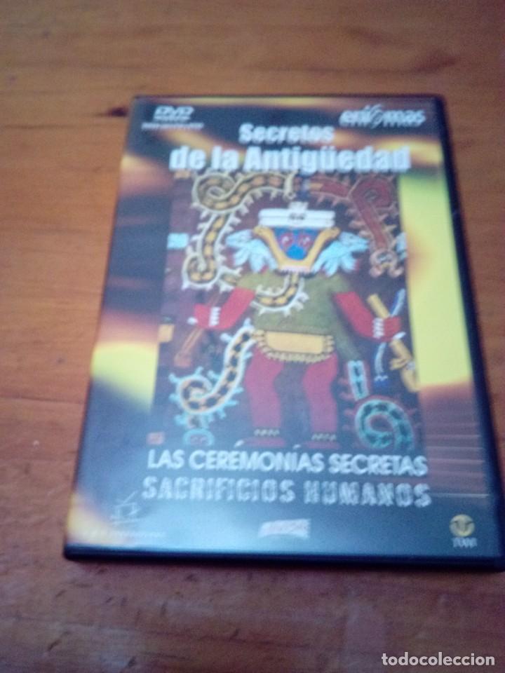 SECRETOS DE LA ANTIGÜEDAD. LAS CEREMONIAS SECRETAS. SACRIFICIOS HUMANOS. B41DVD (Cine - Películas - DVD)