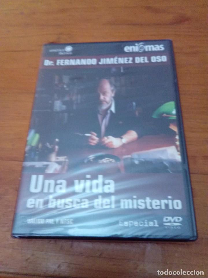 UNA VIDA EN BUSCA DEL MISTERIO. DR. FERNANDO JIMÉNEZ DEL OSO. NUEVA PRECINTADA. B41DVD (Cine - Películas - DVD)