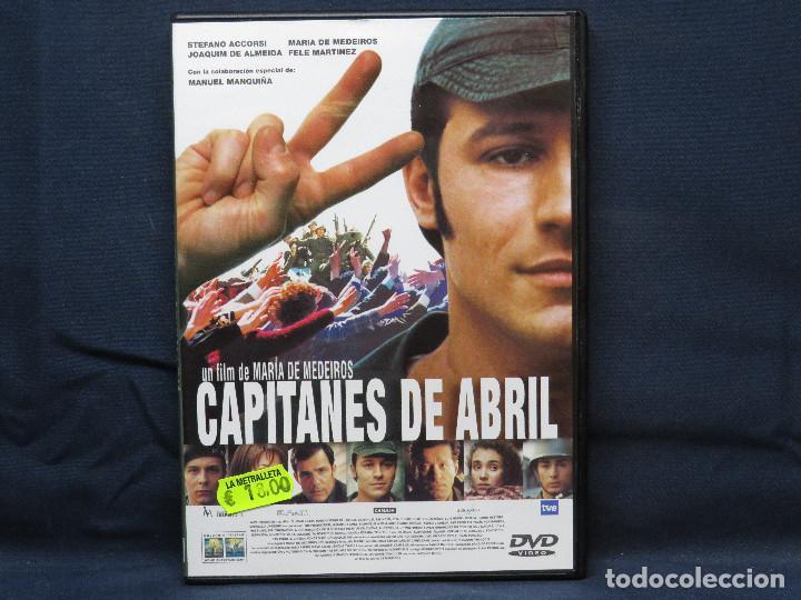 CAPITANES DE ABRIL - DVD (Cine - Películas - DVD)