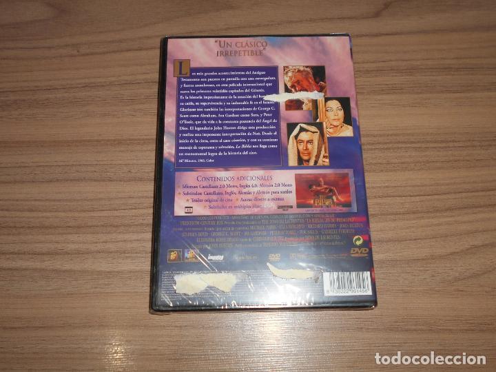 Cine: La BIBLIA en Su Principio DVD George C. Scott AVA GARDNER Peter OToole NUEVA PRECINTADA - Foto 2 - 265439384
