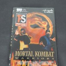 Cine: DVR. 461 MORTAL KOMBAT WARRIORS‐DVD METIDO EN SLIM CON SLICOVER RECOR. Lote 210027361